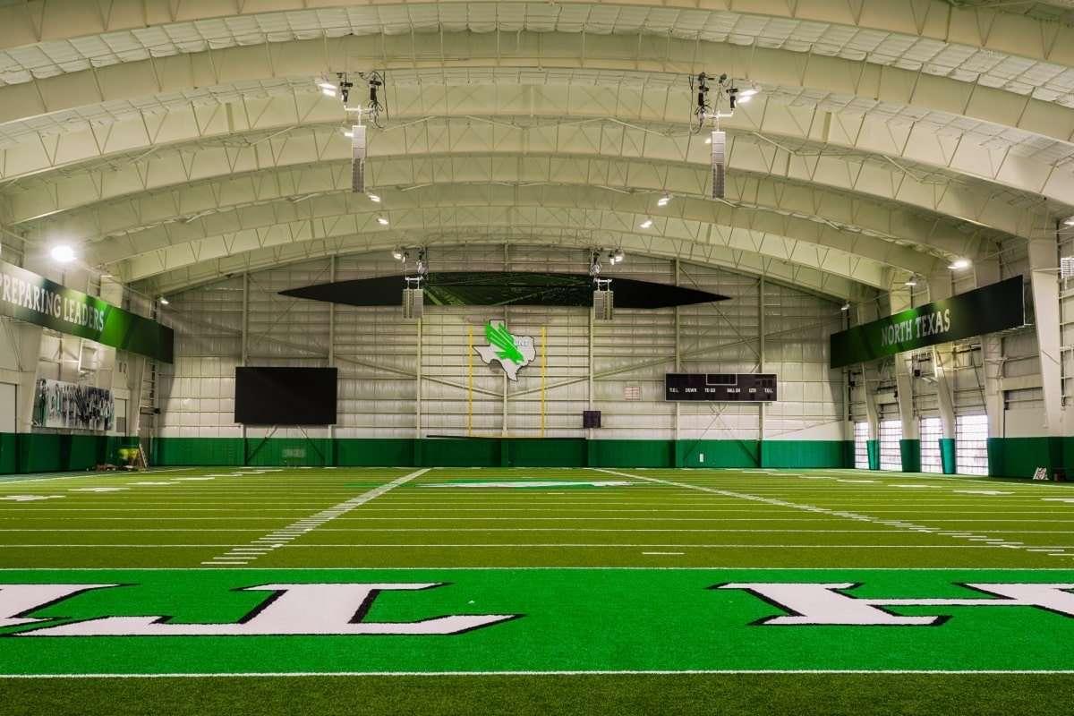 UNT Indoor-Football -Practice Facility Campos Engineering