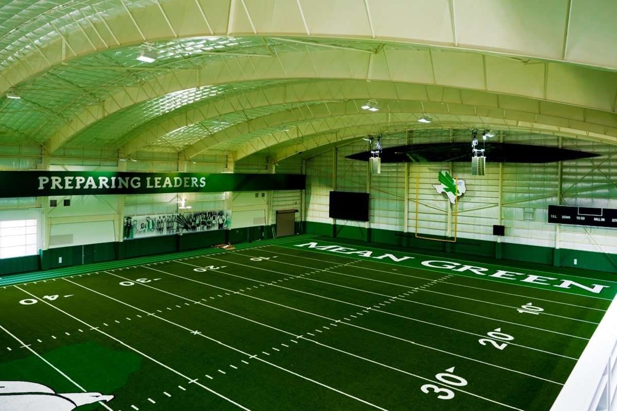 Campos Engineering University of North Texas Football Practice Facility project